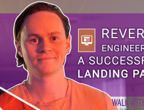 Reverse engineering a successful landing page