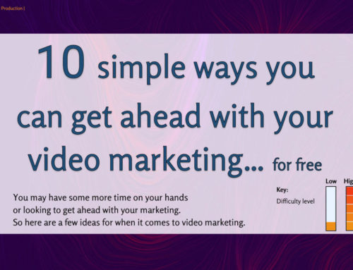 10 simple ways to you can get ahead with your video marketing… for free